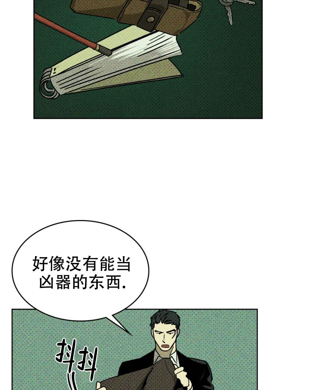 韩漫  《绿色镌像》这男人竟该死的甜美~纯情男大学生x黑帮大佬  第18张